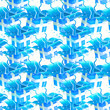 Blue gift wrap seamless texture background pattern