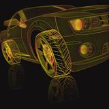 3D Model Sports Car