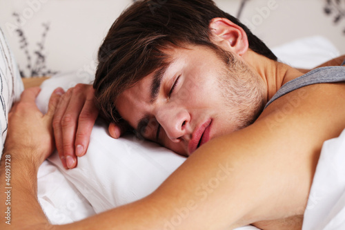 Young Man Asleep