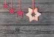 Weihnachtliches Holzboard
