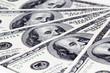 Money background. Dollar bills