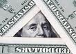 Hundred dollar bills close up