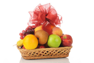 Fruit gift basket