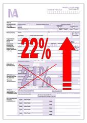 Aumento dell'IVA - Dichiarazione IVA - Legge di stabilità