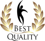 Best Quality isolated logo
