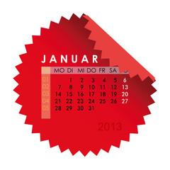 Monatskalender Januar 2013