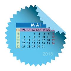 Monatskalender Mai 2013