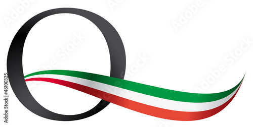Italian Quality isolated logo