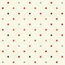 Kolorowe polka dot powtarzalne wzór na tkaniny tekstury
