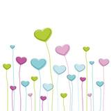 Fototapety Farbenfrohe Herzen