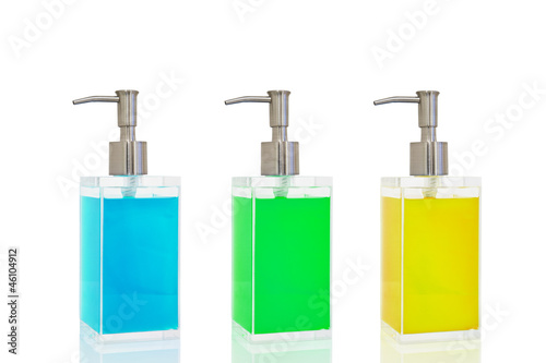 liquid soap container shampoo bottle.