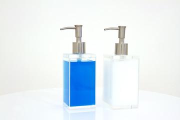 liquid soap container shampoo bottle.