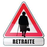age de la retraite - pension de retraite poster