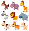 illustration of Animals cartoon Vector
