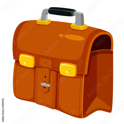 illustration of business bag