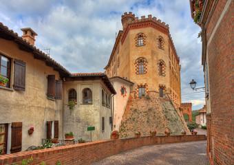 Castle of Barolo. Piedmont, Italy.