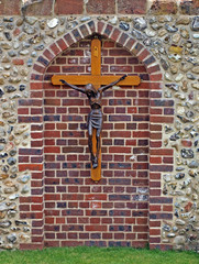 One off the many Shrines at Walsingham.