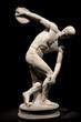 antike Statue eines Diskuswerfers (Diskobolos)