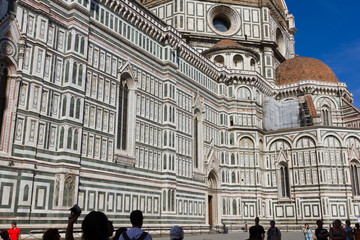 The Dome of Florence Duomo, Florence, Italy