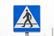 Znak Drogowy / Przejście dla pieszych