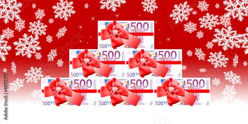 Weihnachtsgeld Geschenkgutschein