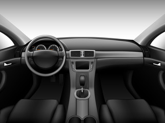 Dashboard - car interior