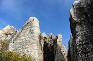 Cerro del Hierro, karst, erosión