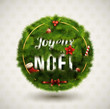 Joyeux Noël-Creative Christmas Label