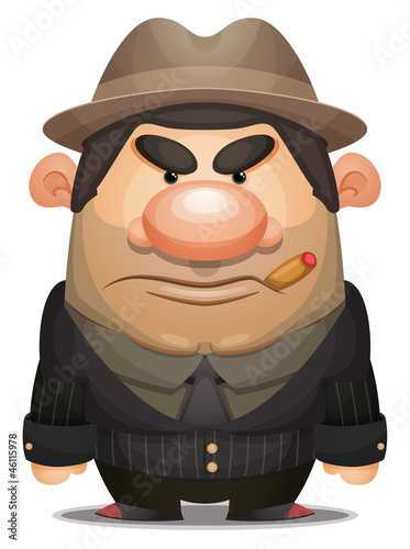 Cartoon Mobster