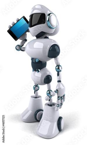 Tuinposter Robots Fun robot