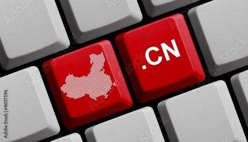.cn - Chinesische Domain