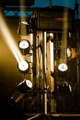 multiple stage light beams