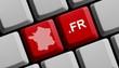 .fr - französische Domain