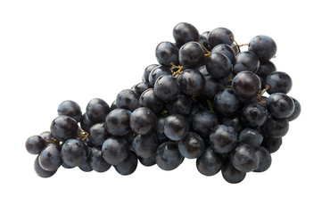 Red grape fully isolated