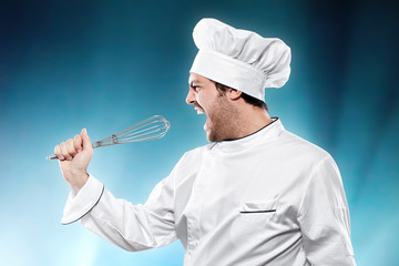 Singing chef