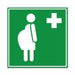 Señal atencion sanitaria embarazada