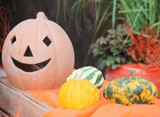 Halloween vegetables