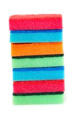colorful sponges