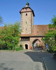 der Storchenturm in Zell am Harmersbach im Schwarzwald