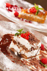 desserts with berries