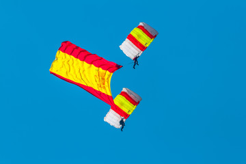 Parachutist of the PAPEA