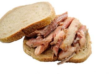 Sandwich;Mackerel on Rye