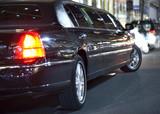 Fototapety Black limo