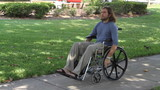 Paraplegic Veteran Wheelchair poster