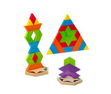 Wooden toy bricks for kids how to create and imagination