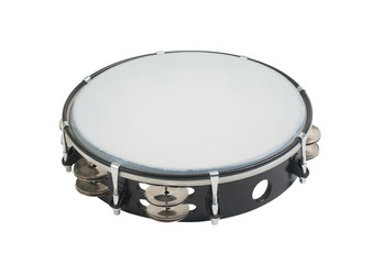 Tambourine the one of the music instrument