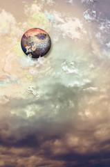 Sky of storm