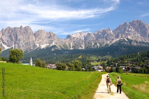 Fototapeten,wanderer,spaziergang,münster,alpen