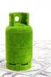 green gas tank concept