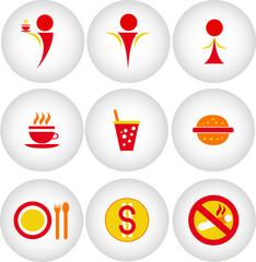 Cafe, bar, restaurant icon
